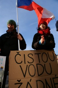 From the first demonstration in Czech rep: we need clean water